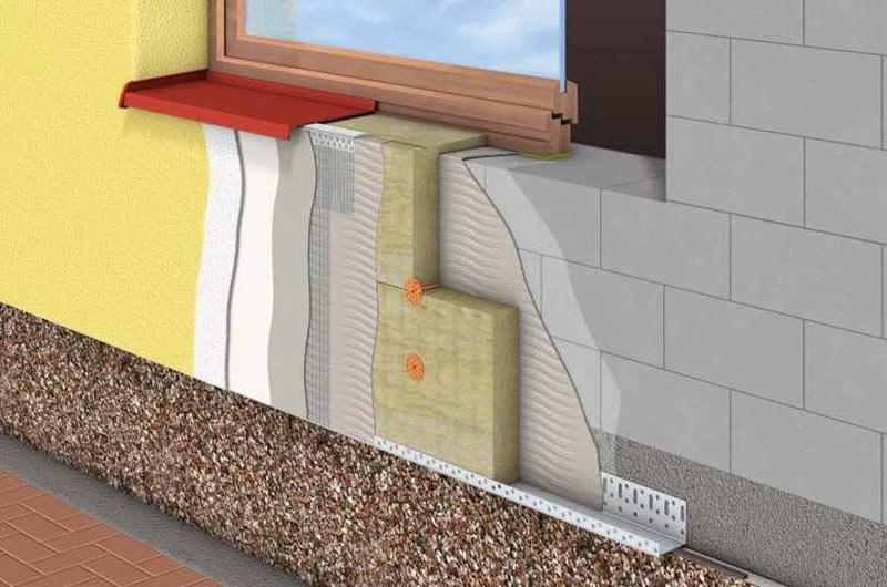 Теплоизоляция стен от профессионалов